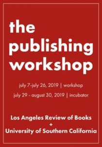 LARB USC Publishing Workshop Flyer