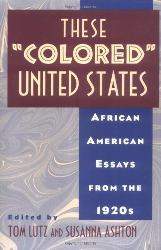 "These ""Colored"" United States"