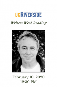 Tom Lutz Reading at Writers Week UC Riverside