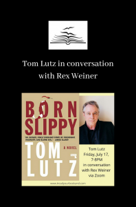 Tom Lutz event with Rex Weiner