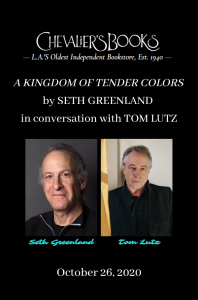 Tom Lutz in conversation with Seth Greenland